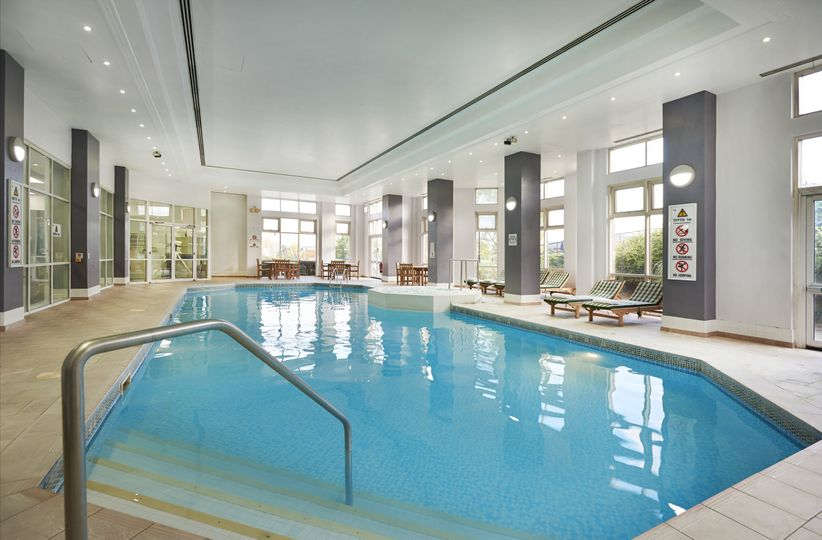 Pool and finish center