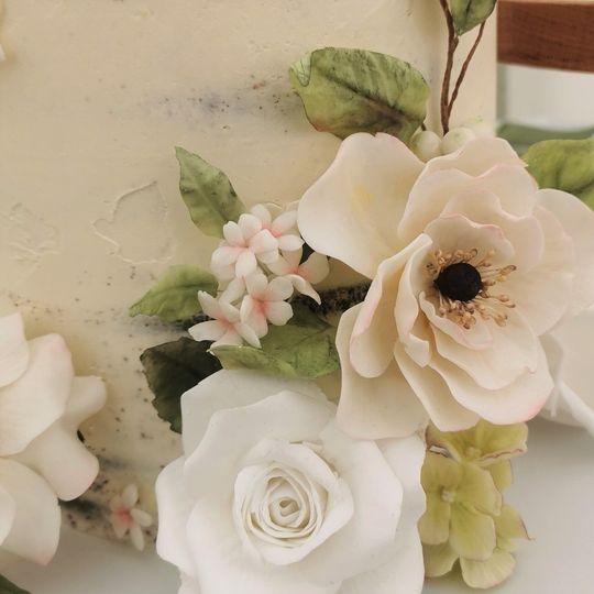 Sugar flower detail