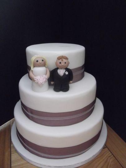 Three Tier Wedding Cake from £175