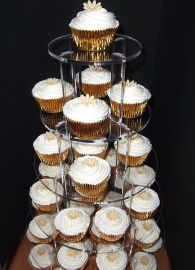 Wedding Cup Cake Tower