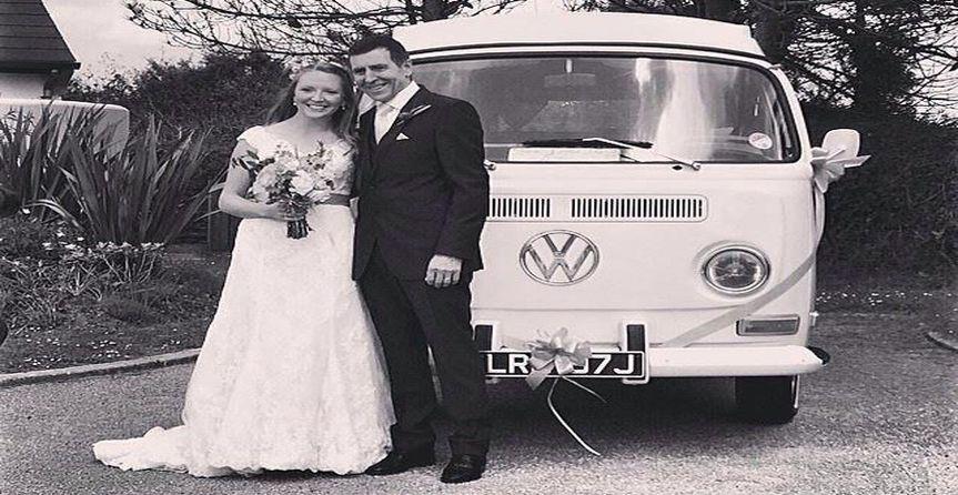 Bride and dad...