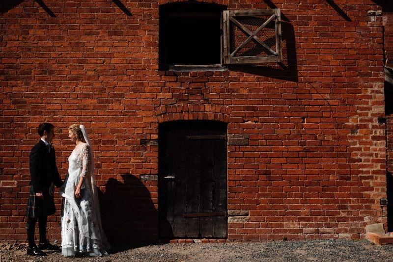 Old Millhouse photo backdrop
