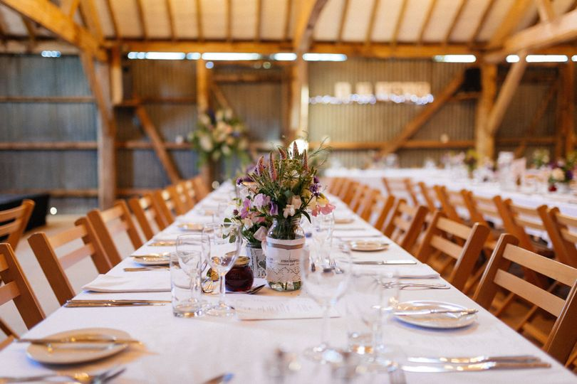 Trestle table dining