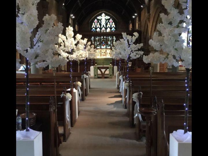 Blossoms at Church