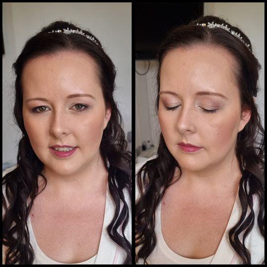 Beautiful bride on her wedding