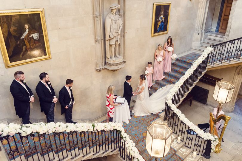 Ashridge House Main Staircase Ceremony