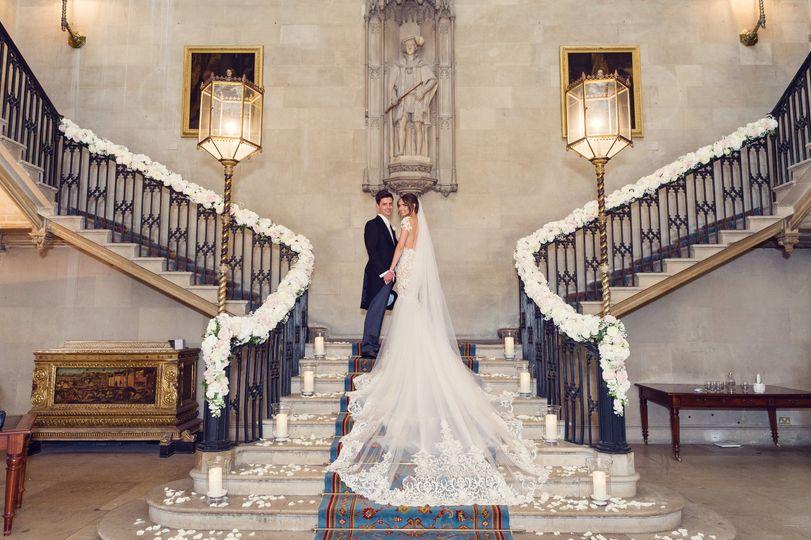Ashridge House Couple Main Staircase