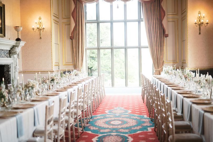Banqueting style dining