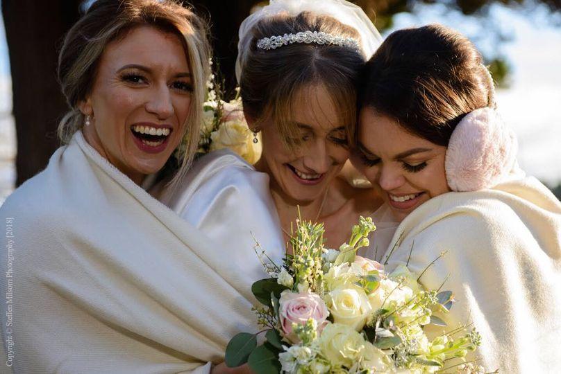 Gorgeous wedding shot