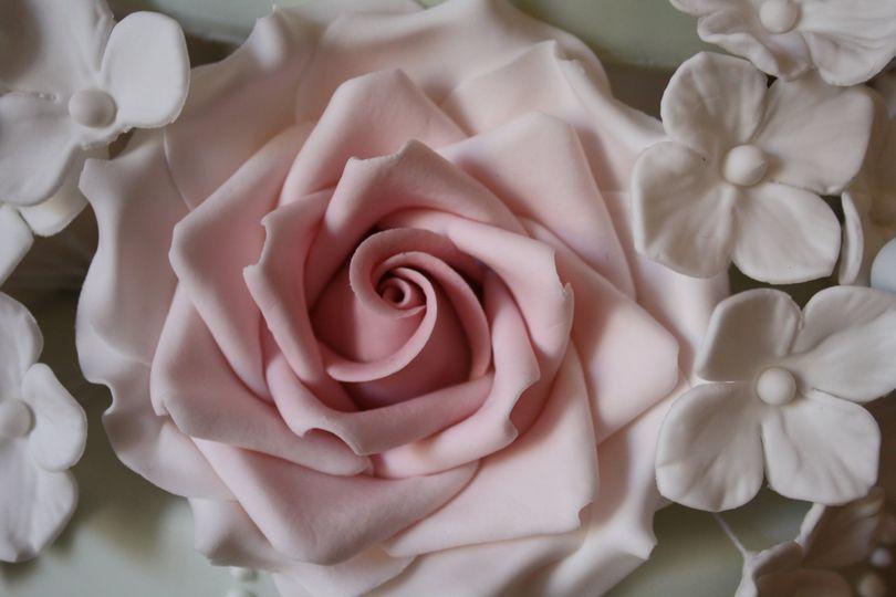 Flowerpaste rose
