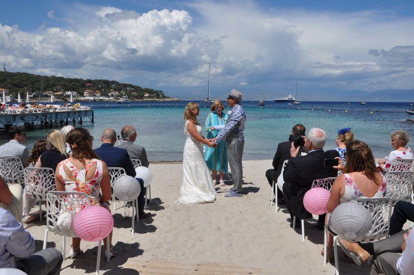 Riviera wedding