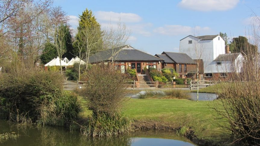 Coltsford Mill grounds