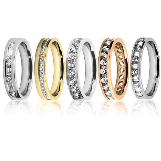 diamond channel wedding rings 1 4 269071 161478062468898