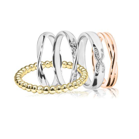 Elegant shaped bands