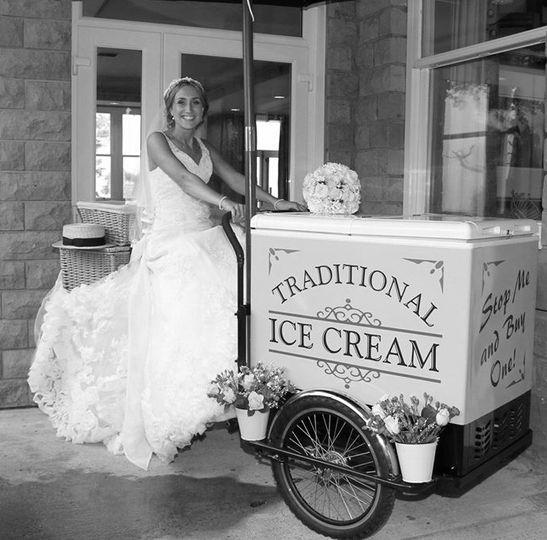 ice cream tricycle bride 4 109072