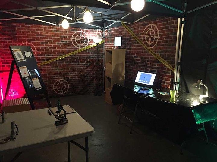 Wedding escape room