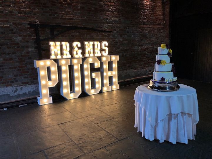 Personalised large letters