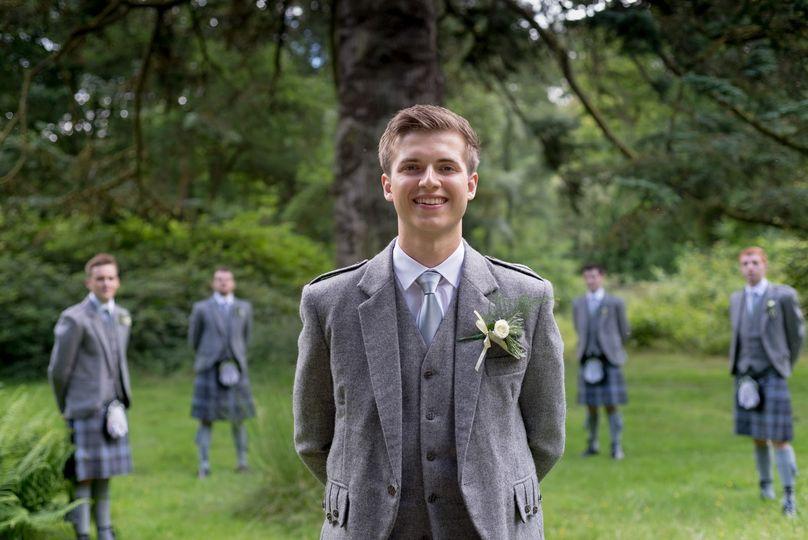 Bobby and the groomsmen