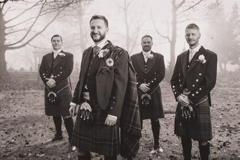 Scots in the mist
