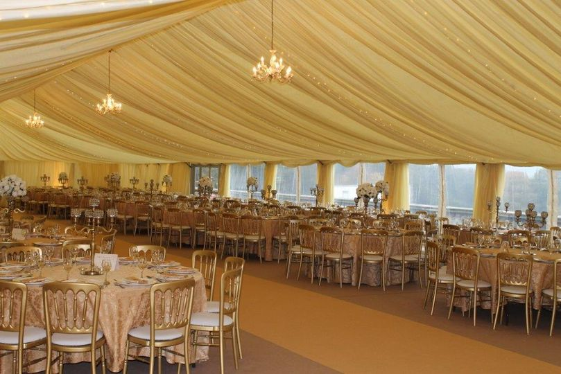 Marquee for 1200 people