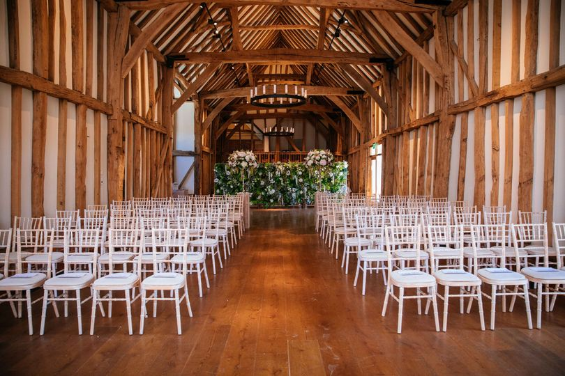 Ceremony in The Great Barn