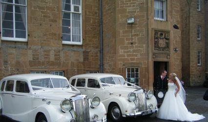 Lothian Classic Wedding Cars 1