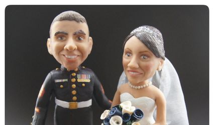 Clare Basham Designs - Cake toppers 1