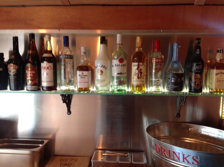 Just a few drinks we sell