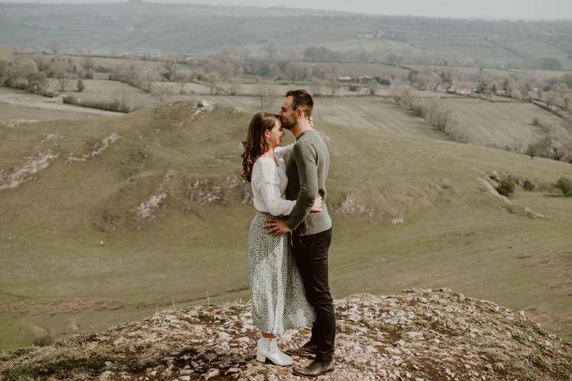 Peak District engagement session - Charlotte Wotton Photography