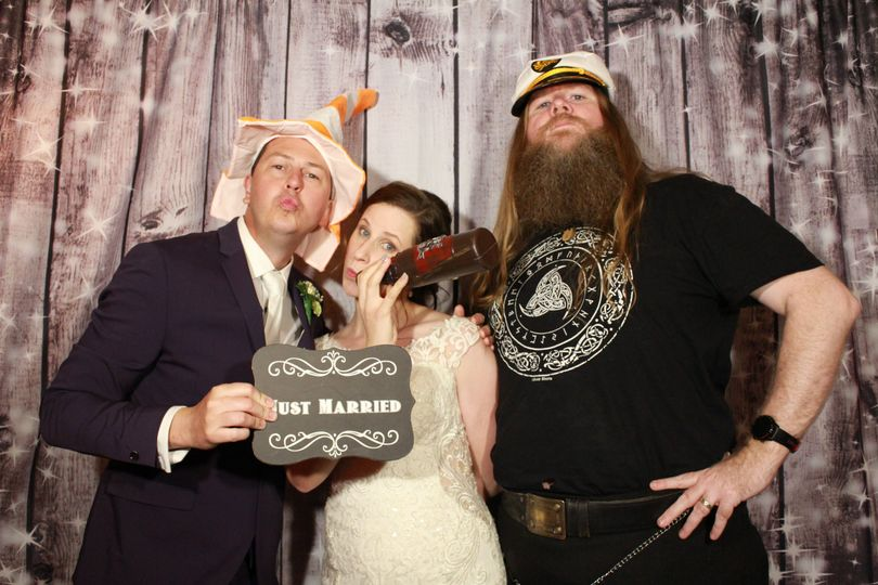 Photo Booth For Pagan Handfasting