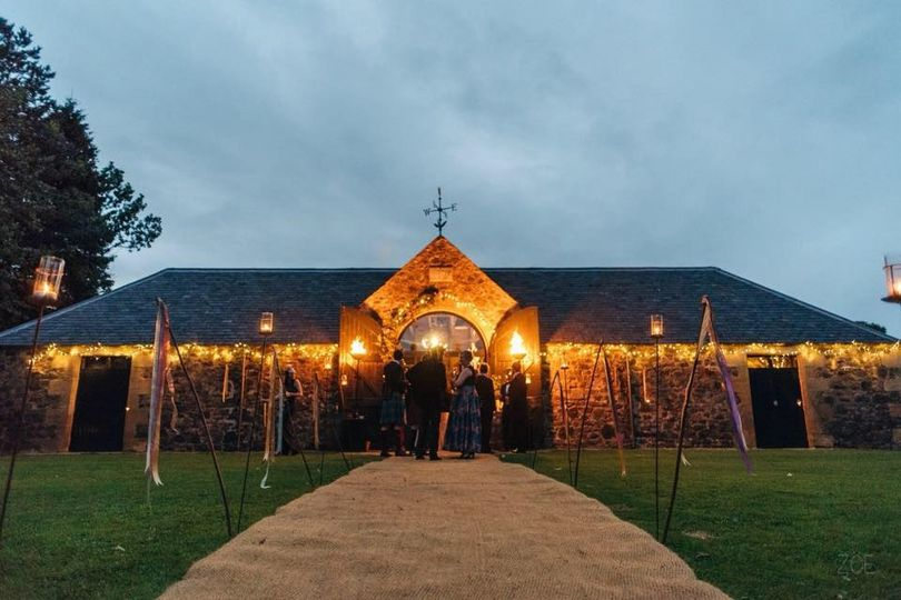 The Byre at Night
