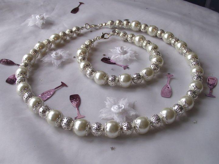 Bridal Ivory Pearl Set