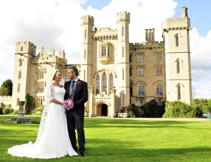 Duns Castle Celebrity Wedding 2018