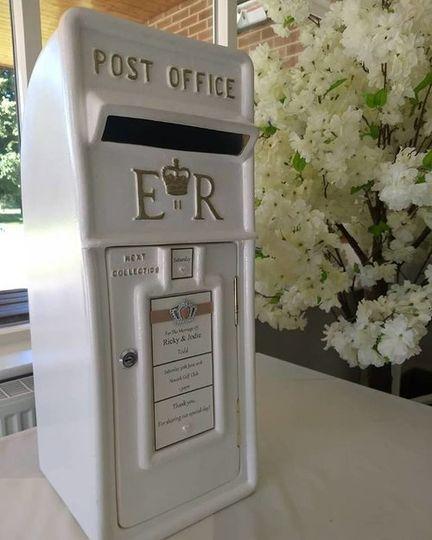 Traditional post box