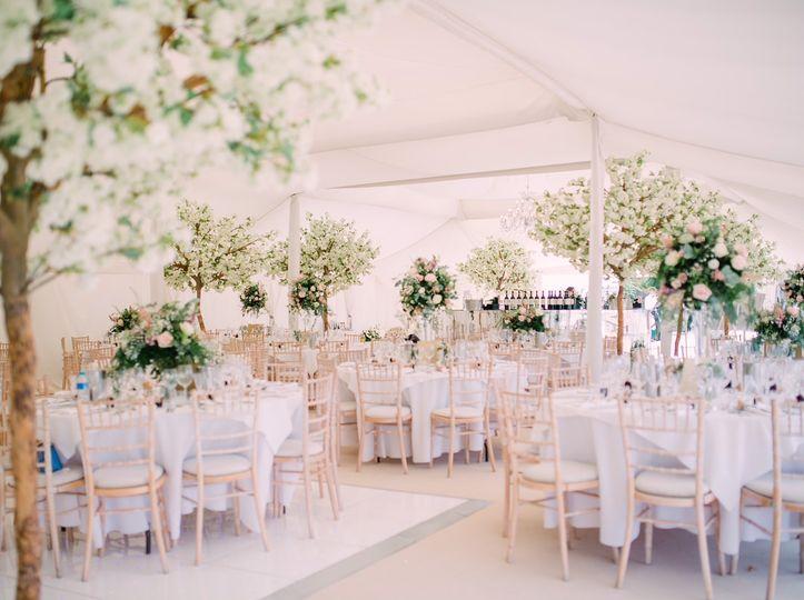 Blossom Marquee Wedding