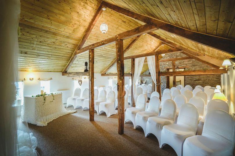 Original beamed ceilings