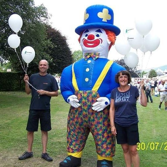 Giant clown