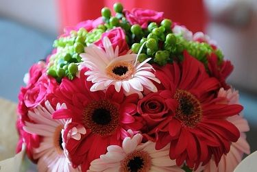 Clodagh's lovely wedding bouquet!