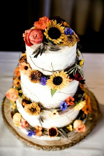 An eye-catching cake