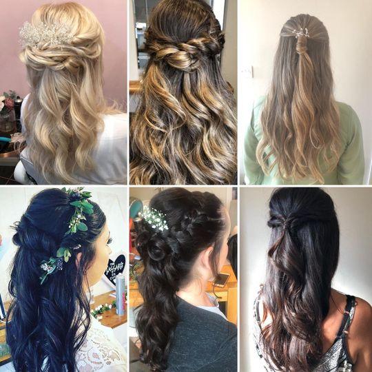 Beauty, Hair & Make Up NB Wedding and Bridal Hair 59