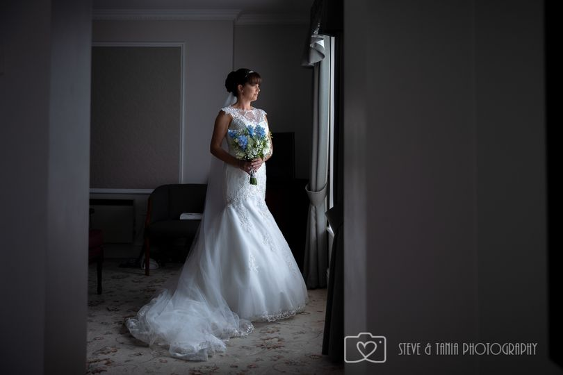 The bride - Steve and Tania Photography