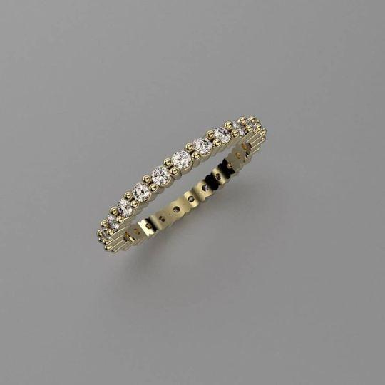 Bespoke gold engagement ring