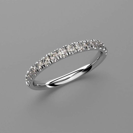 Bespoke platinum engagement ring
