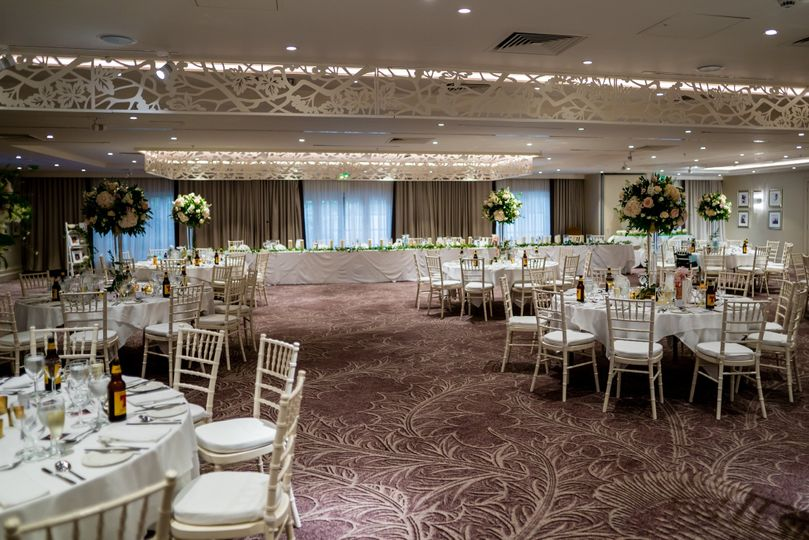 Dalmahoy Suite Wedding Breakfast