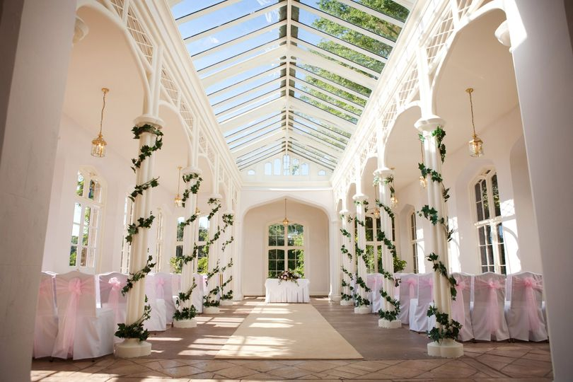 Breathtaking Orangery at St Audries Park.