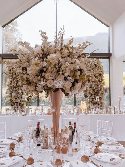 Lovely floral centrepiece