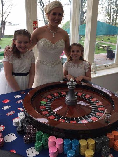Fun wedding casino