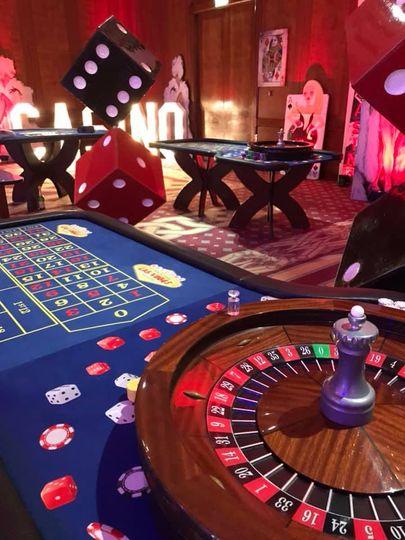 Las Vegas roulette and props