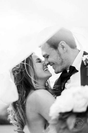 The bride and groom - Rapid Image UK