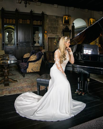 Courtyard Couture Wedding Dress